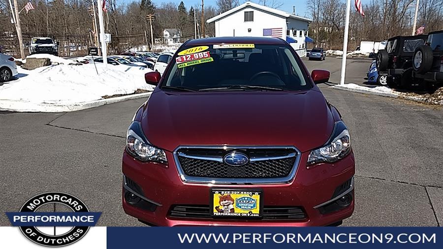 Used Subaru Impreza Wagon 5dr CVT 2.0i Premium 2016   Performance Motorcars Inc. Wappingers Falls, New York