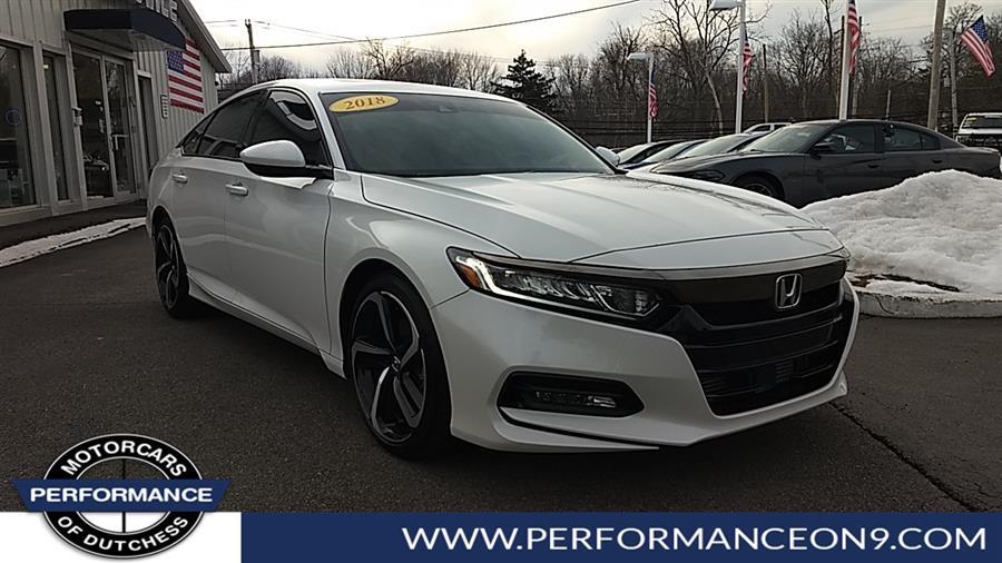 Used 2018 Honda Accord Sedan in Wappingers Falls, New York | Performance Motorcars Inc. Wappingers Falls, New York