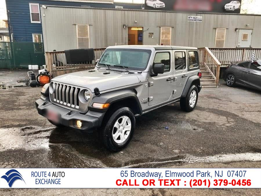 Used Jeep Wrangler Unlimited Sport S 4x4 2020   Route 4 Auto Exchange. Elmwood Park, New Jersey