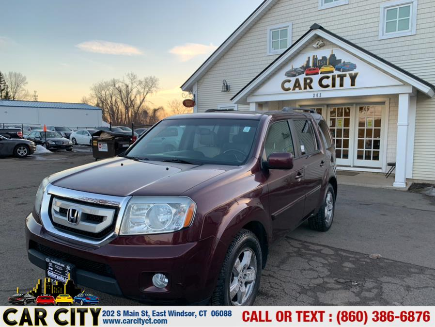 Used Honda Pilot 4WD 4dr EX-L w/Navi 2011 | Car City LLC. East Windsor, Connecticut