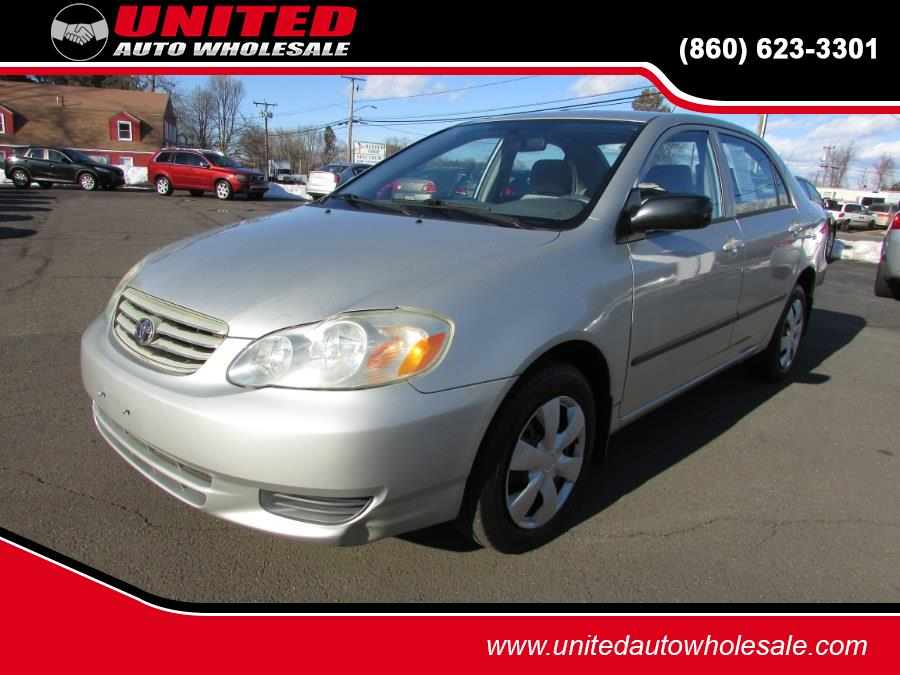 Used 2003 Toyota Corolla in East Windsor, Connecticut | United Auto Sales of E Windsor, Inc. East Windsor, Connecticut