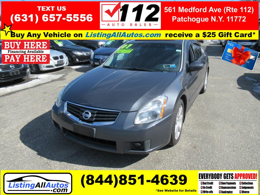 Used 2007 Nissan Maxima in Patchogue, New York | www.ListingAllAutos.com. Patchogue, New York