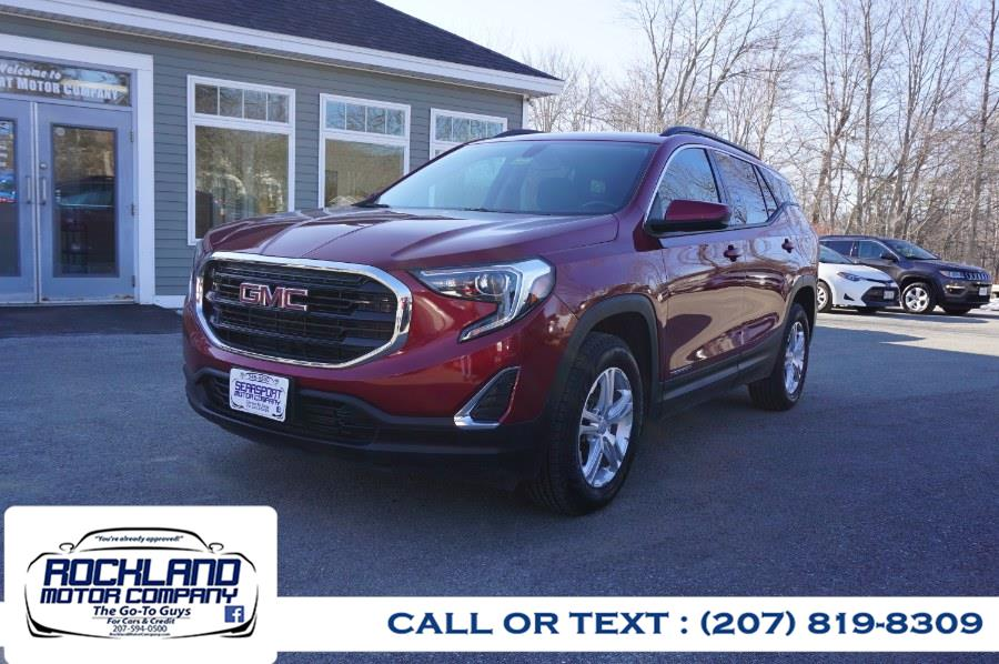 Used 2018 GMC Terrain in Rockland, Maine | Rockland Motor Company. Rockland, Maine