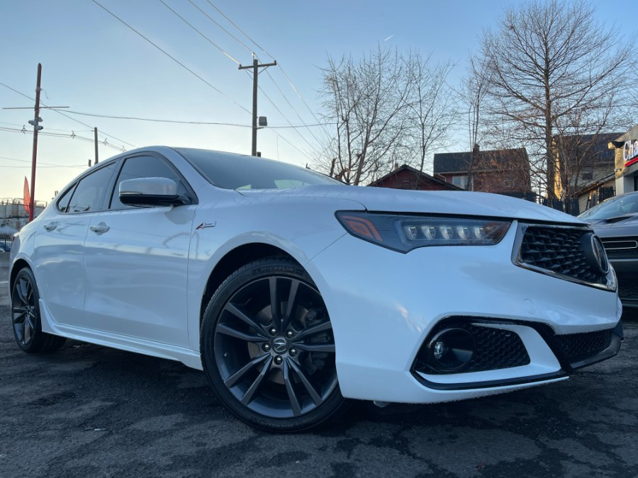 Used Acura TLX 3.5L SH-AWD w/A-SPEC Pkg Red Leather 2018 | Champion Auto Sales. Hillside, New Jersey