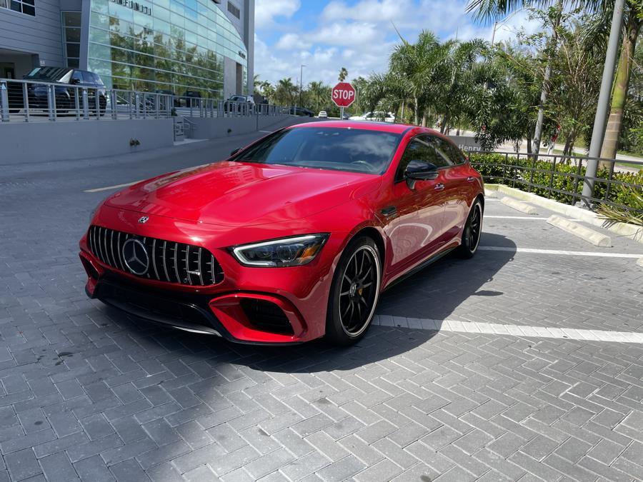 2019 Mercedes-Benz AMG GT 63 S Sedan 4MATIC AWD