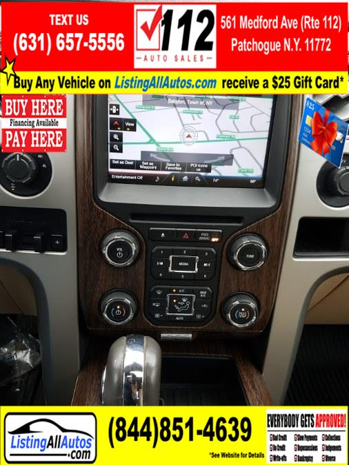 "Used Ford F-150 4WD SuperCrew 145"" Lariat 2013 