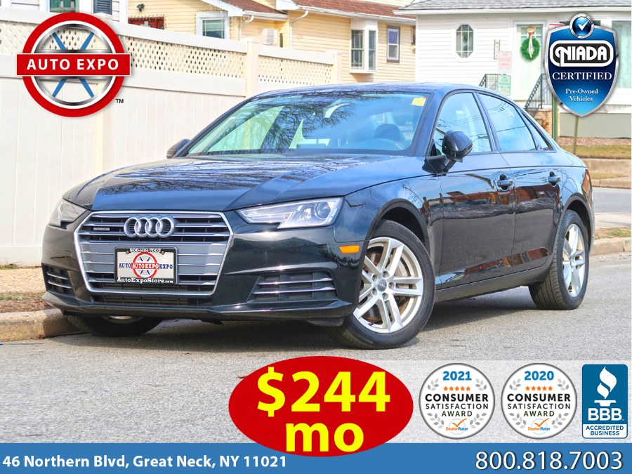 Used 2017 Audi A4 in Great Neck, New York | Auto Expo Ent Inc.. Great Neck, New York
