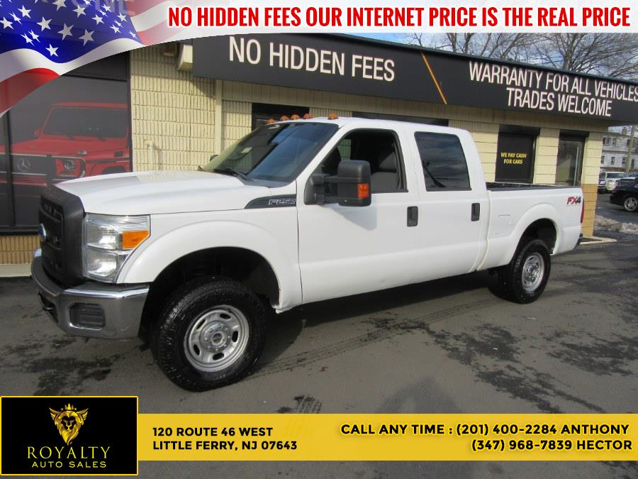 Used 2012 Ford Super Duty F-250 SRW in Little Ferry, New Jersey | Royalty Auto Sales. Little Ferry, New Jersey