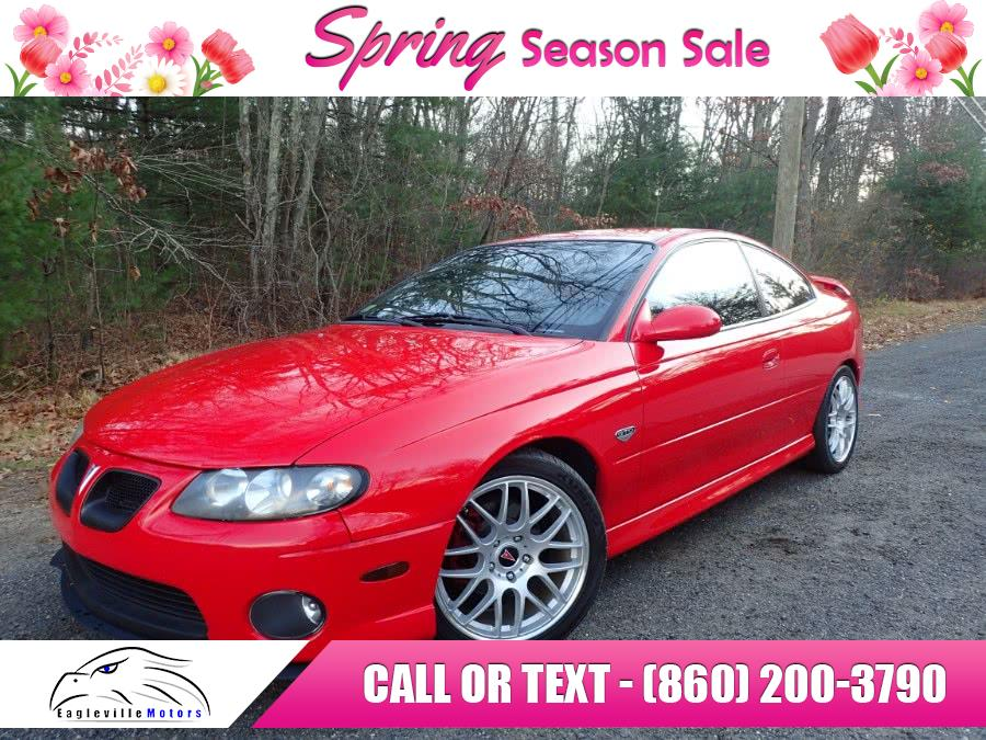 Used 2004 Pontiac GTO in Storrs, Connecticut | Eagleville Motors. Storrs, Connecticut
