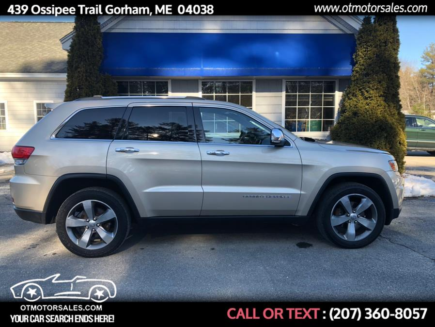 Used 2014 Jeep Grand Cherokee in Gorham, Maine | Ossipee Trail Motor Sales. Gorham, Maine