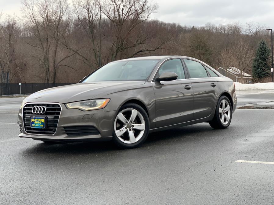 Used 2012 Audi A6 in Waterbury, Connecticut | Platinum Auto Care. Waterbury, Connecticut