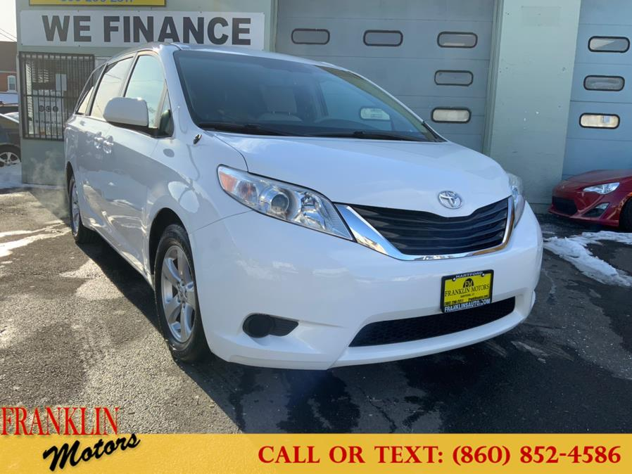 Used 2013 Toyota Sienna in Hartford, Connecticut | Franklin Motors Auto Sales LLC. Hartford, Connecticut