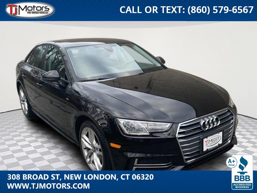 Used 2017 Audi A4 in New London, Connecticut | TJ Motors. New London, Connecticut