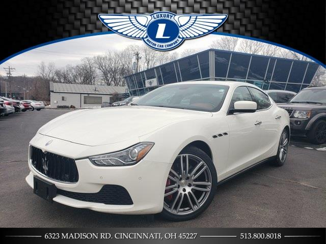 Used Maserati Ghibli S Q4 2015 | Luxury Motor Car Company. Cincinnati, Ohio