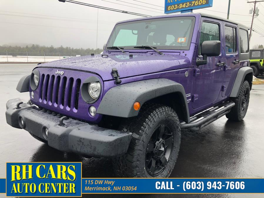 Used 2017 Jeep Wrangler Unlimited in Merrimack, New Hampshire | RH Cars LLC. Merrimack, New Hampshire