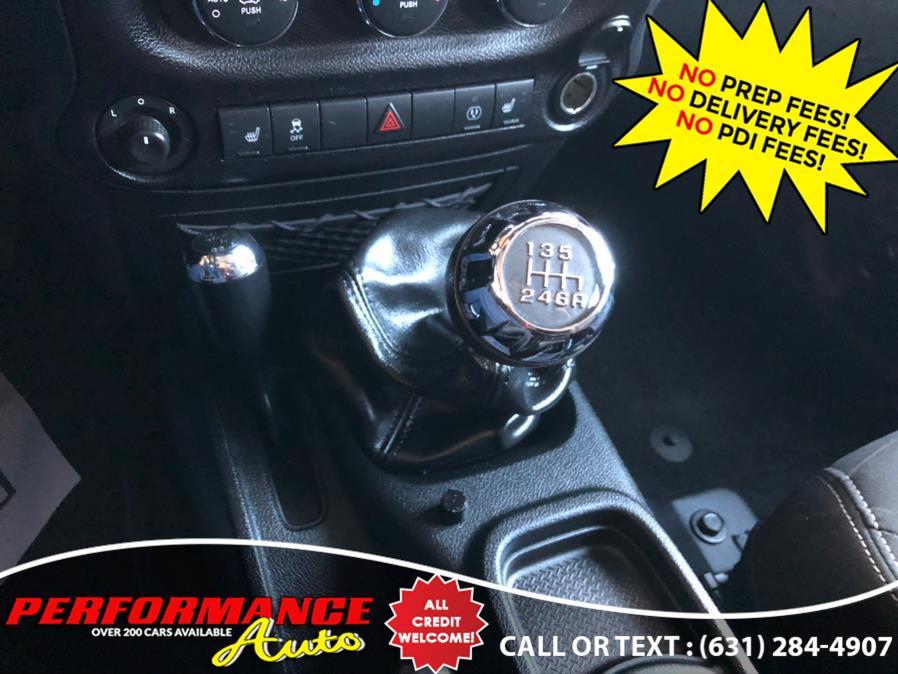 Used Jeep Wrangler Unlimited 4WD 4dr Sahara 2016 | Performance Auto Inc. Bohemia, New York
