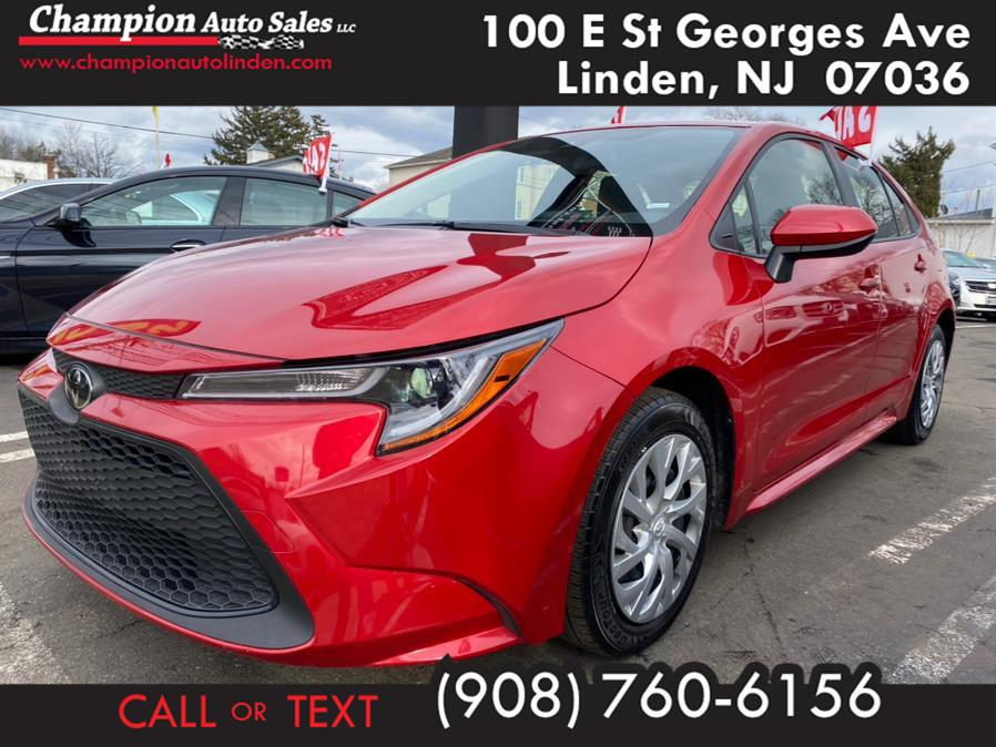 Used 2020 Toyota Corolla in Linden, New Jersey | Champion Used Auto Sales. Linden, New Jersey