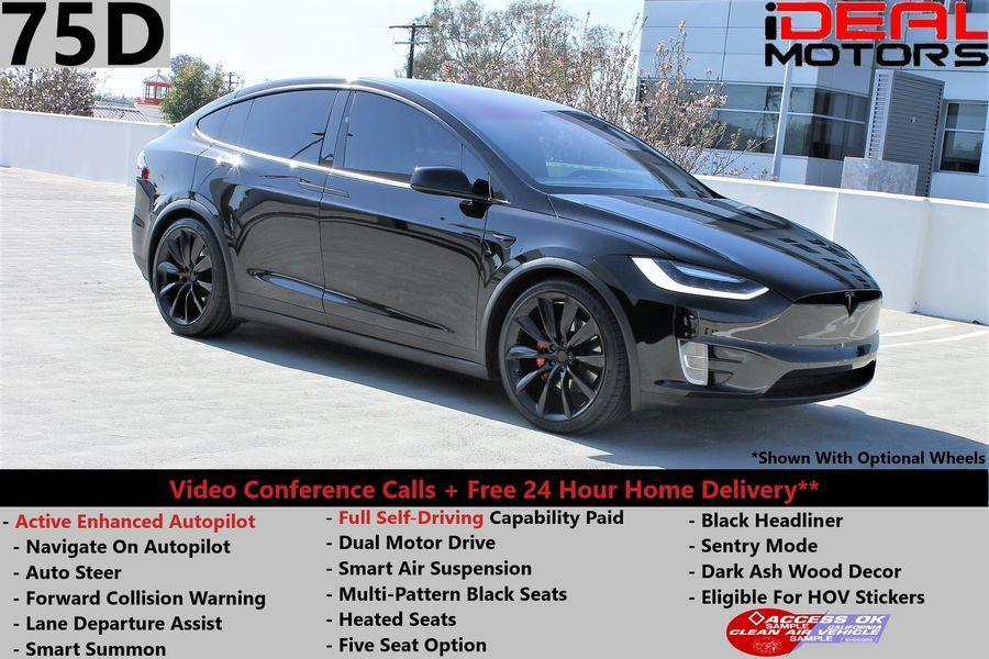 Used Tesla Model x 75D Sport Utility 4D 2016   Ideal Motors. Costa Mesa, California