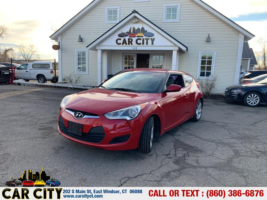 Used Hyundai Veloster 3dr Cpe Auto w/Gray Int 2012 | Car City LLC. East Windsor, Connecticut