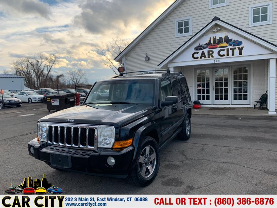 Used Jeep Commander 4WD 4dr Sport 2008   Car City LLC. East Windsor, Connecticut