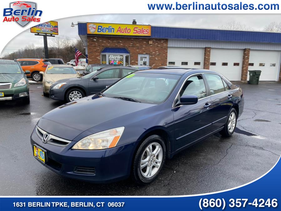 Used 2006 Honda Accord Sdn in Berlin, Connecticut | Berlin Auto Sales LLC. Berlin, Connecticut