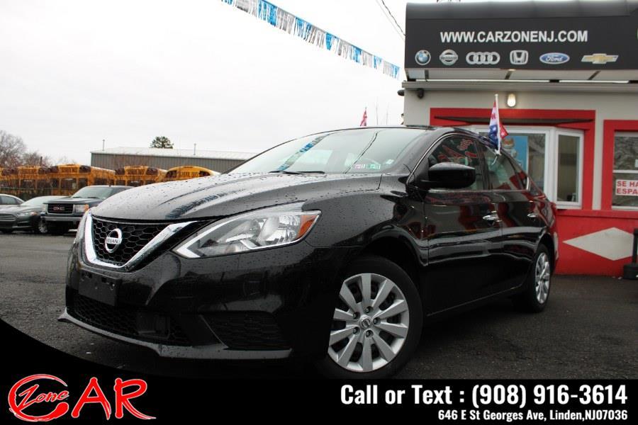 Used Nissan Sentra SV CVT 2019 | Car Zone. Linden, New Jersey
