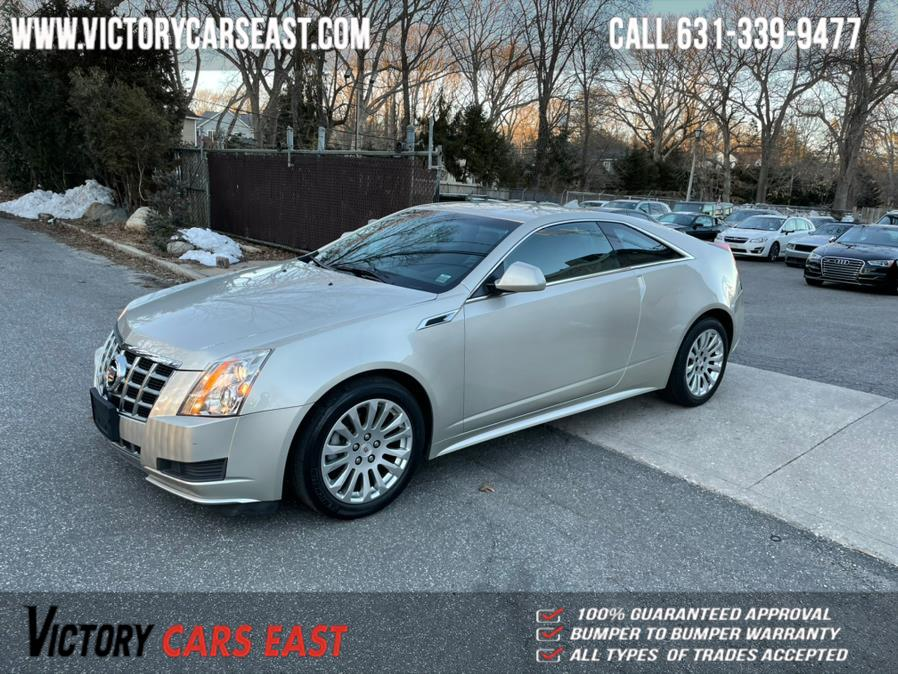 Used Cadillac CTS Coupe 2dr Cpe AWD 2013 | Victory Cars East LLC. Huntington, New York