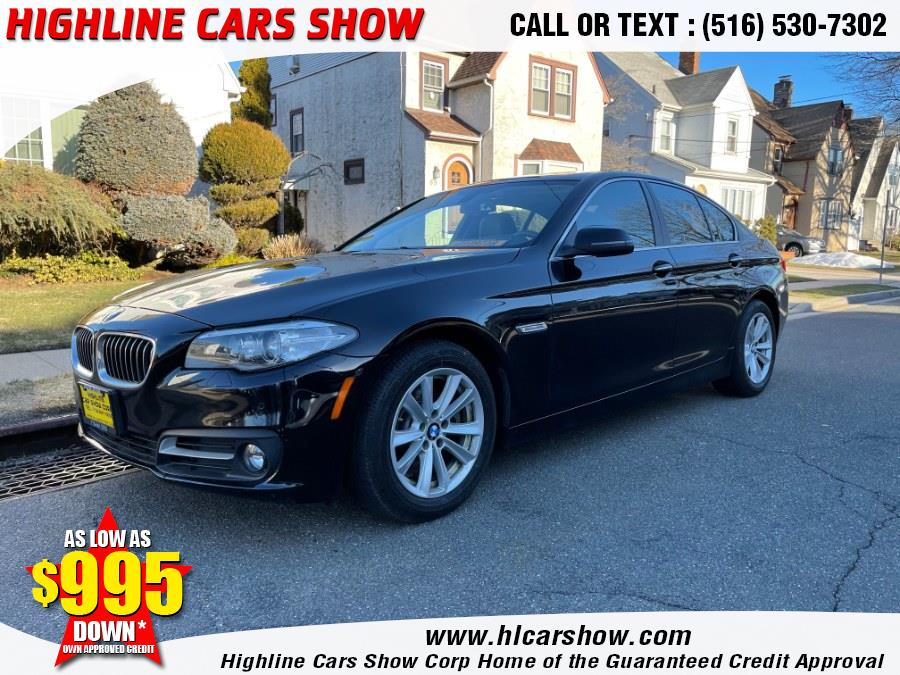 Used BMW 5 Series 4dr Sdn 528i RWD 2015 | Highline Cars Show Corp. West Hempstead, New York