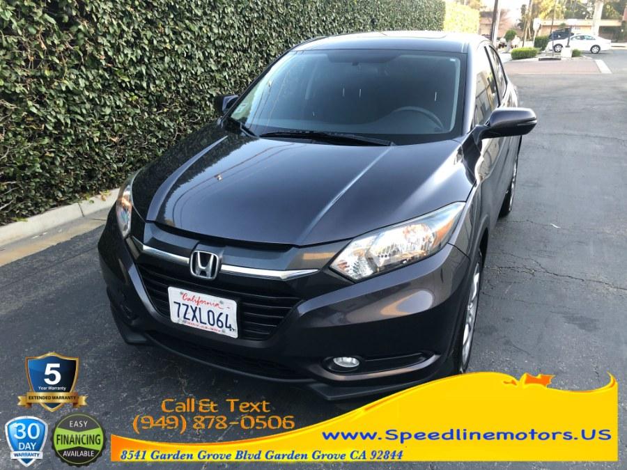 Used 2017 Honda HR-V in Garden Grove, California | Speedline Motors. Garden Grove, California