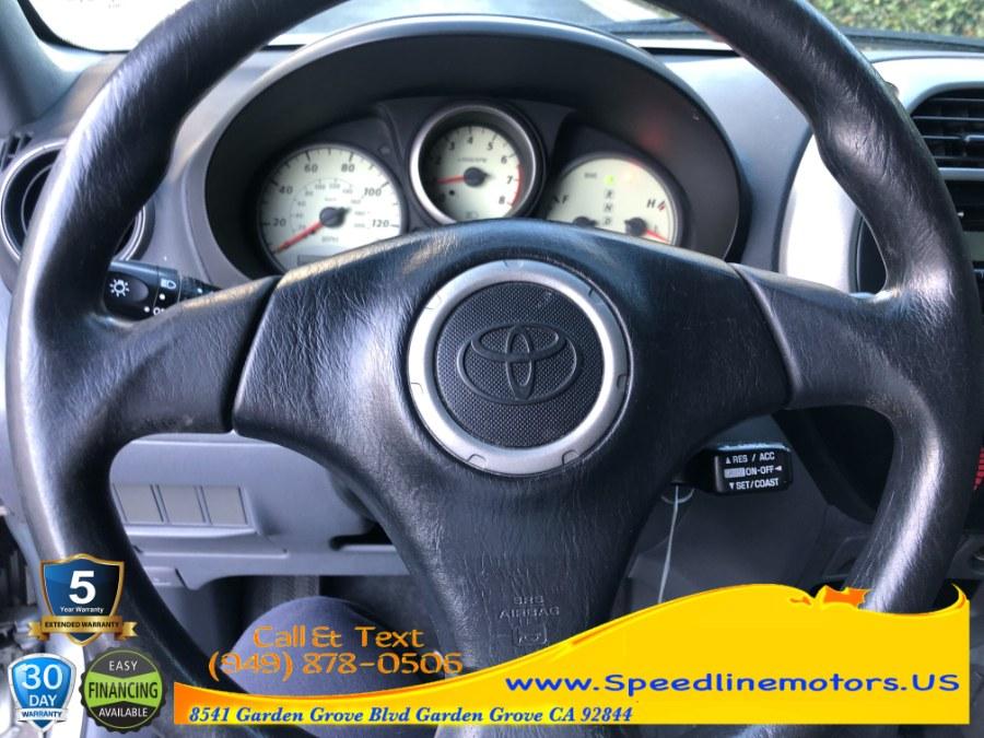 Used Toyota RAV4 4dr Auto (SE) 2001   Speedline Motors. Garden Grove, California