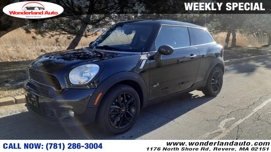 Used 2013 MINI Cooper Paceman in Revere, Massachusetts | Wonderland Auto. Revere, Massachusetts