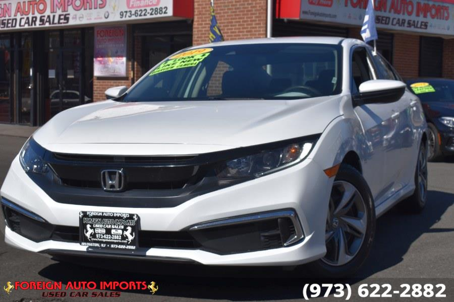 Used Honda Civic Sedan LX CVT 2019 | Foreign Auto Imports. Irvington, New Jersey