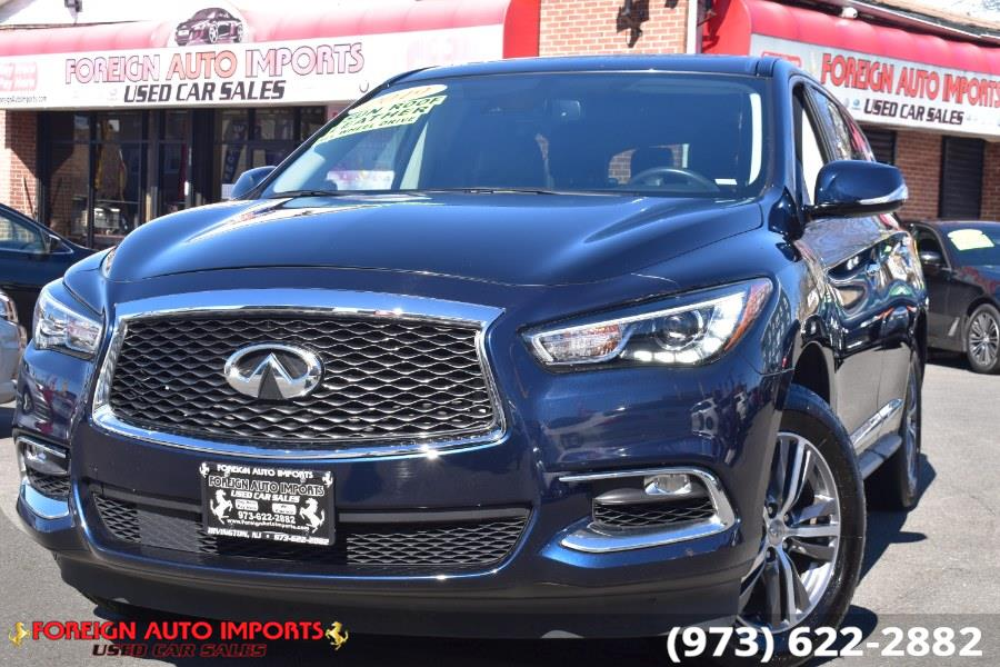 Used INFINITI QX60 2019.5 PURE AWD 2019 | Foreign Auto Imports. Irvington, New Jersey