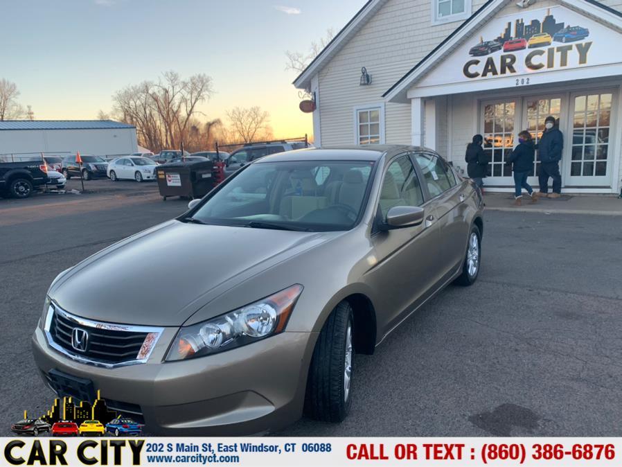 Used Honda Accord Sdn 4dr I4 Auto LX-P 2008   Car City LLC. East Windsor, Connecticut