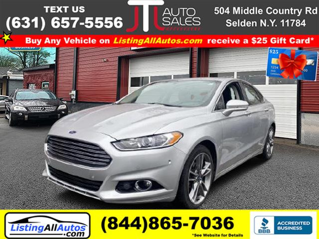 Used 2016 Ford Fusion in Patchogue, New York | www.ListingAllAutos.com. Patchogue, New York