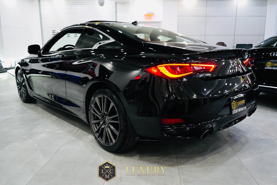Used INFINITI Q60 Red Sport 400 AWD 2017 | C Rich Cars. Franklin Square, New York