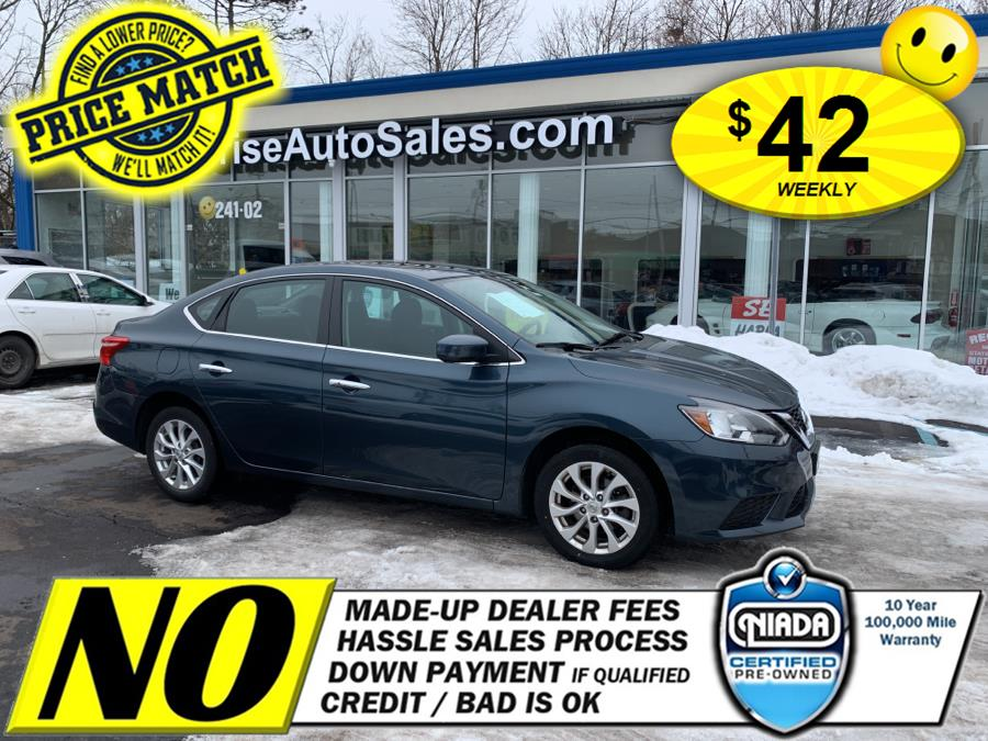 Used Nissan Sentra SV CVT 2017   Sunrise Auto Sales of Elmont. Elmont, New York