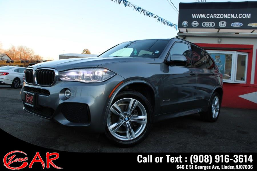 Used BMW X5 4dr sDrive35i 2016   Car Zone. Linden, New Jersey
