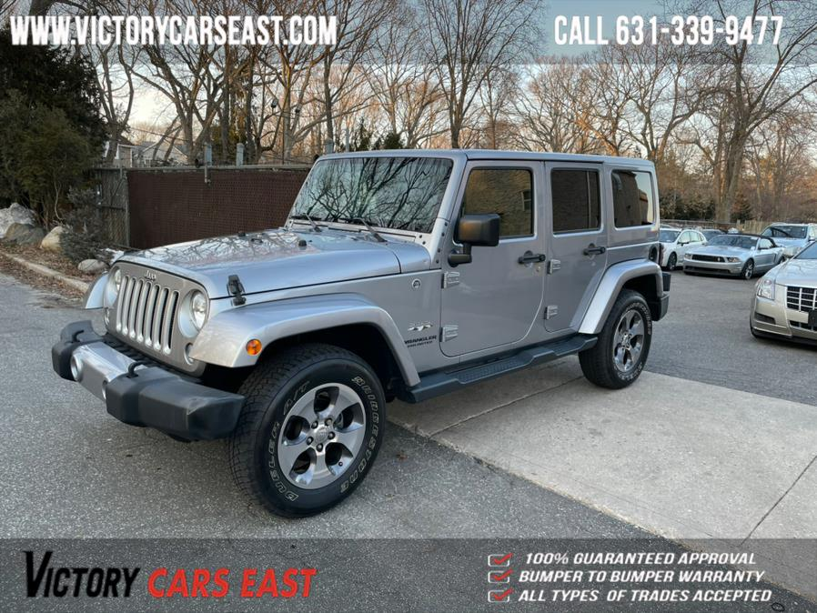 2016 Jeep Wrangler Unlimited 4WD 4dr Sahara, available for sale in Huntington, NY