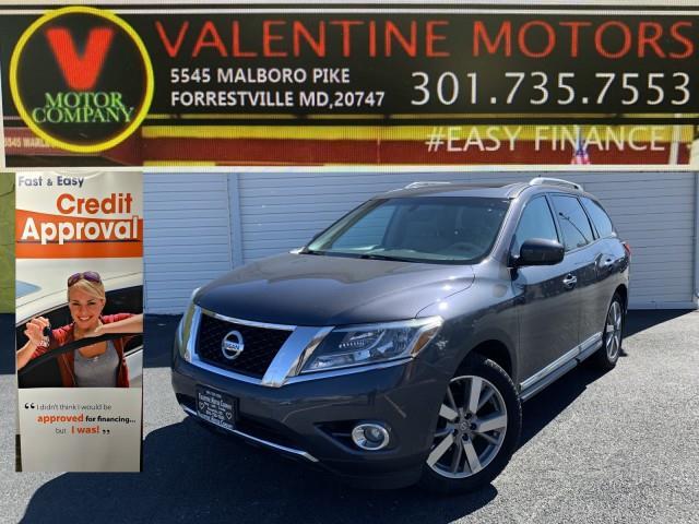 Used Nissan Pathfinder Platinum 2014 | Valentine Motor Company. Forestville, Maryland