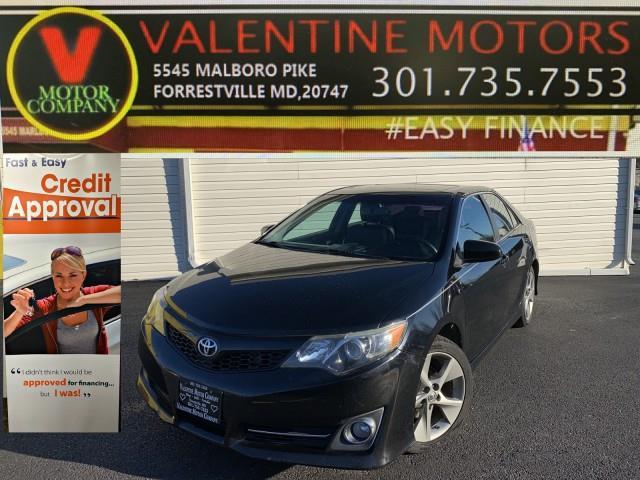Used Toyota Camry SE 2013 | Valentine Motor Company. Forestville, Maryland