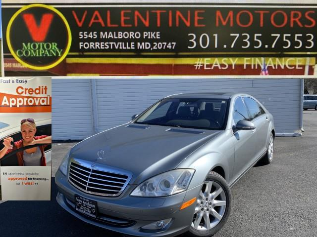 Used 2007 Mercedes-benz S-class in Forestville, Maryland | Valentine Motor Company. Forestville, Maryland