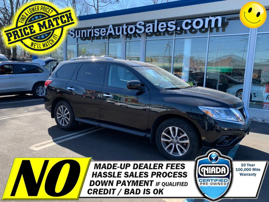 Used Nissan Pathfinder 4WD 4dr S 2015 | Sunrise Auto Sales. Rosedale, New York