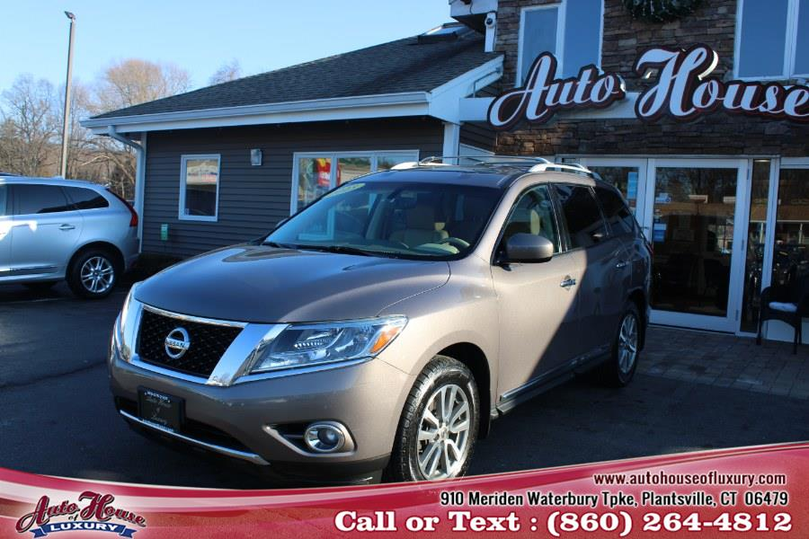 Used Nissan Pathfinder 4WD 4dr SL 2013 | Auto House of Luxury. Plantsville, Connecticut