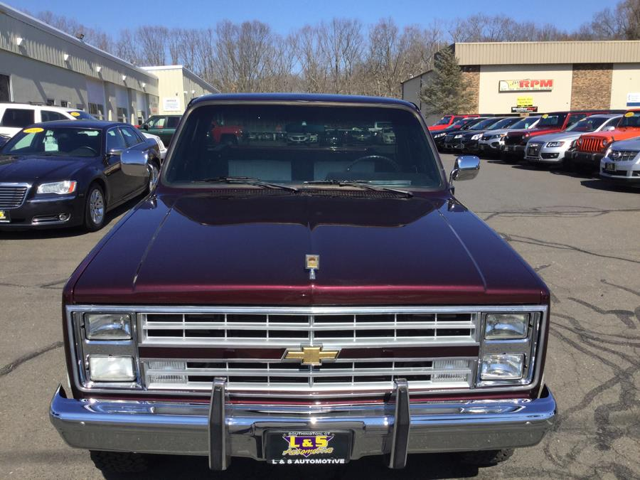 Used Chevrolet K10 K10 Fleetside 1986 | L&S Automotive LLC. Plantsville, Connecticut