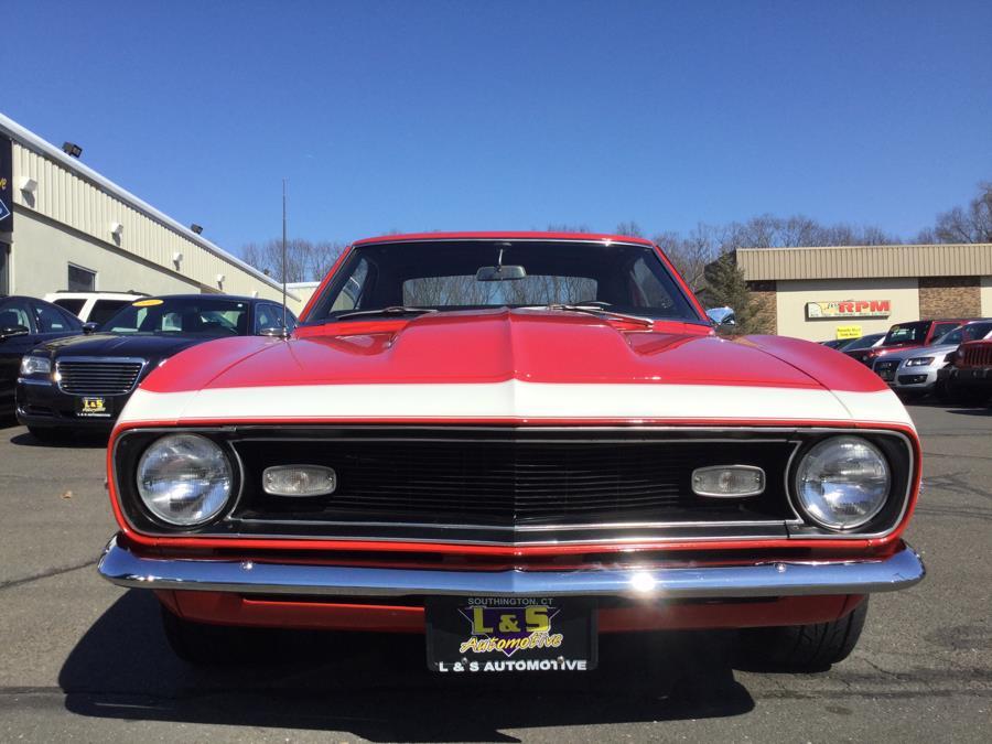Used Chevrolet Camaro V8 1968 | L&S Automotive LLC. Plantsville, Connecticut