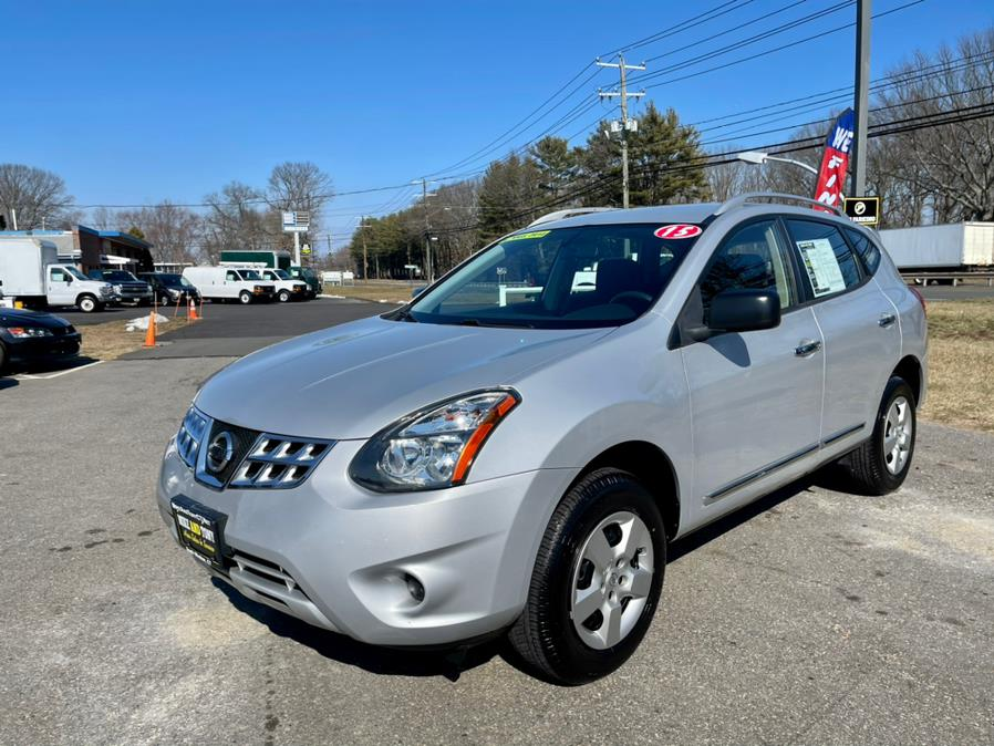 Used Nissan Rogue Select AWD 4dr S 2015 | Mike And Tony Auto Sales, Inc. South Windsor, Connecticut