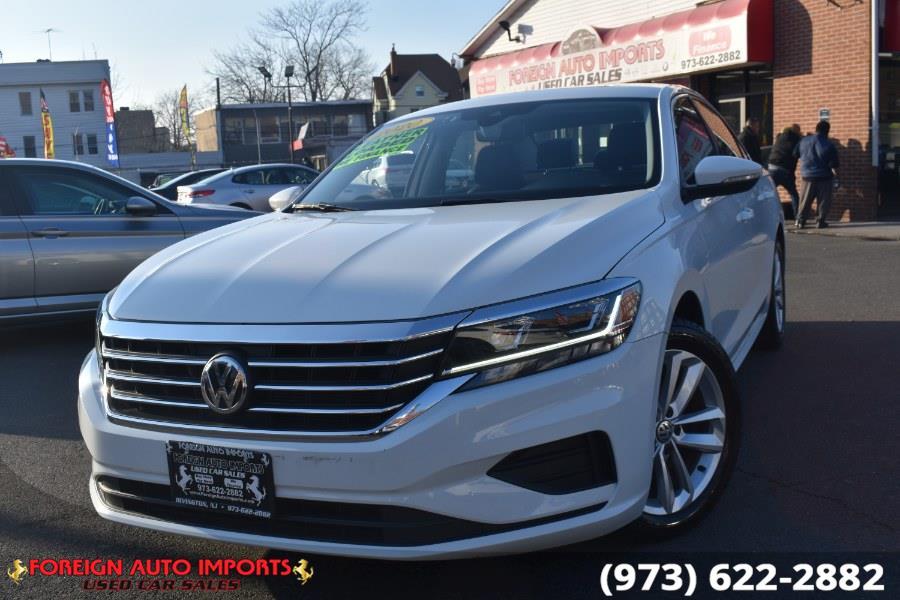 Used Volkswagen Passat 2.0T SE Auto 2020 | Foreign Auto Imports. Irvington, New Jersey