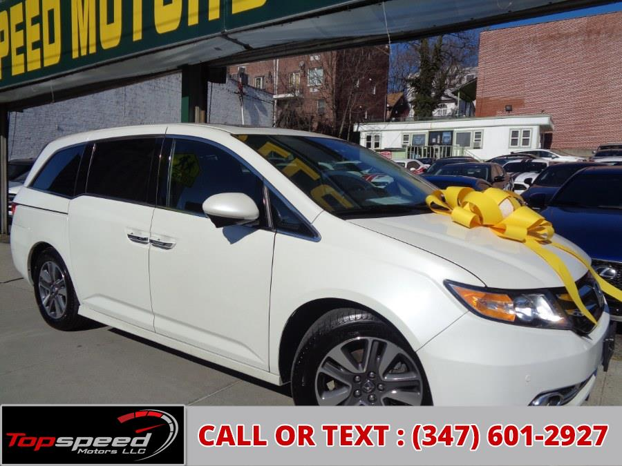 Used Honda Odyssey Touring W/Entertainment 2017 | Top Speed Motors LLC. Jamaica, New York