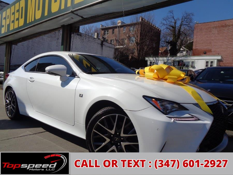 Used Lexus RC350 Coupe AWD F Sport 2015 | Top Speed Motors LLC. Jamaica, New York
